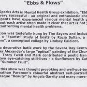 Ebbs and Flows 2001