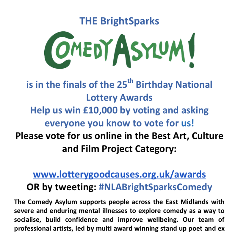 Comedy Asylum is through to the final 25... - Click to enlarge the image set